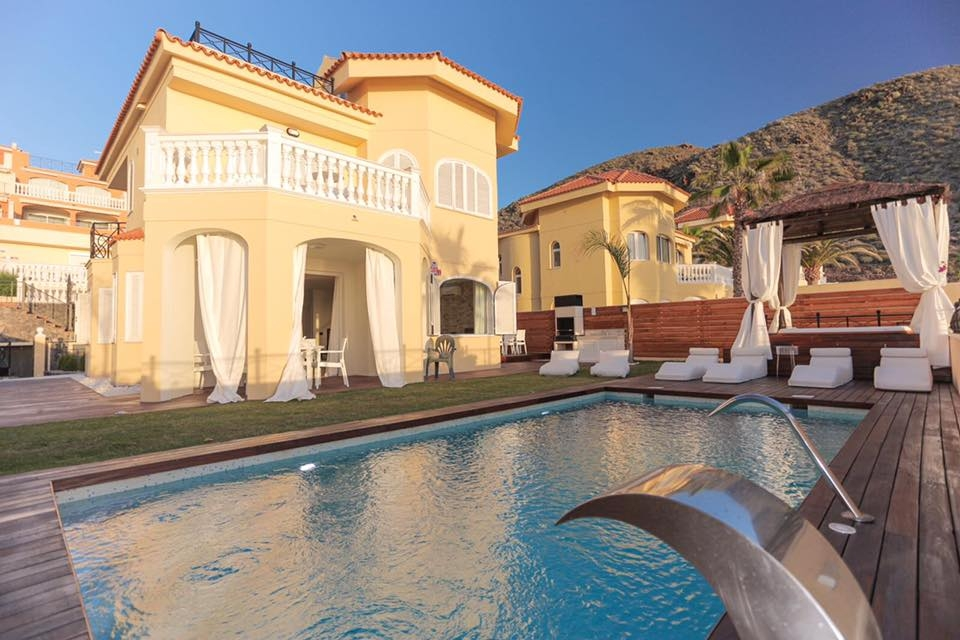 Properties for Sale in Tenerife, Canary Islands, Spain | SylkWayStar Real Estate. Unique 5 bed villa on the first line - Los Cristianos. Image-21337