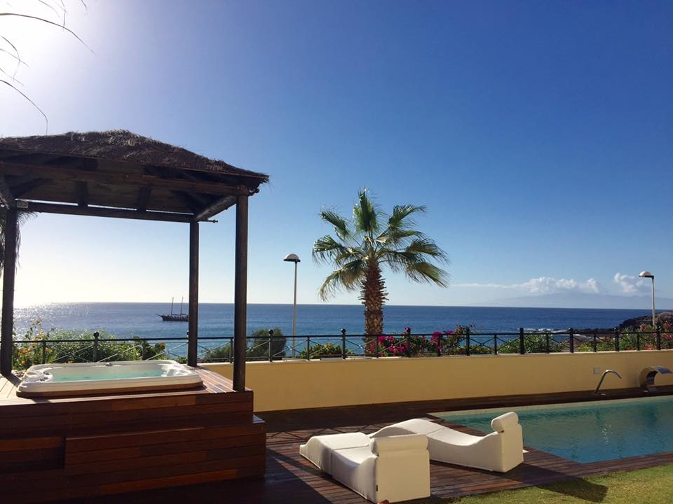 Properties for Sale in Tenerife, Canary Islands, Spain | SylkWayStar Real Estate. Unique 5 bed villa on the first line - Los Cristianos. Image-21346