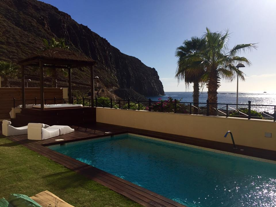 Properties for Sale in Tenerife, Canary Islands, Spain | SylkWayStar Real Estate. Unique 5 bed villa on the first line - Los Cristianos. Image-21353