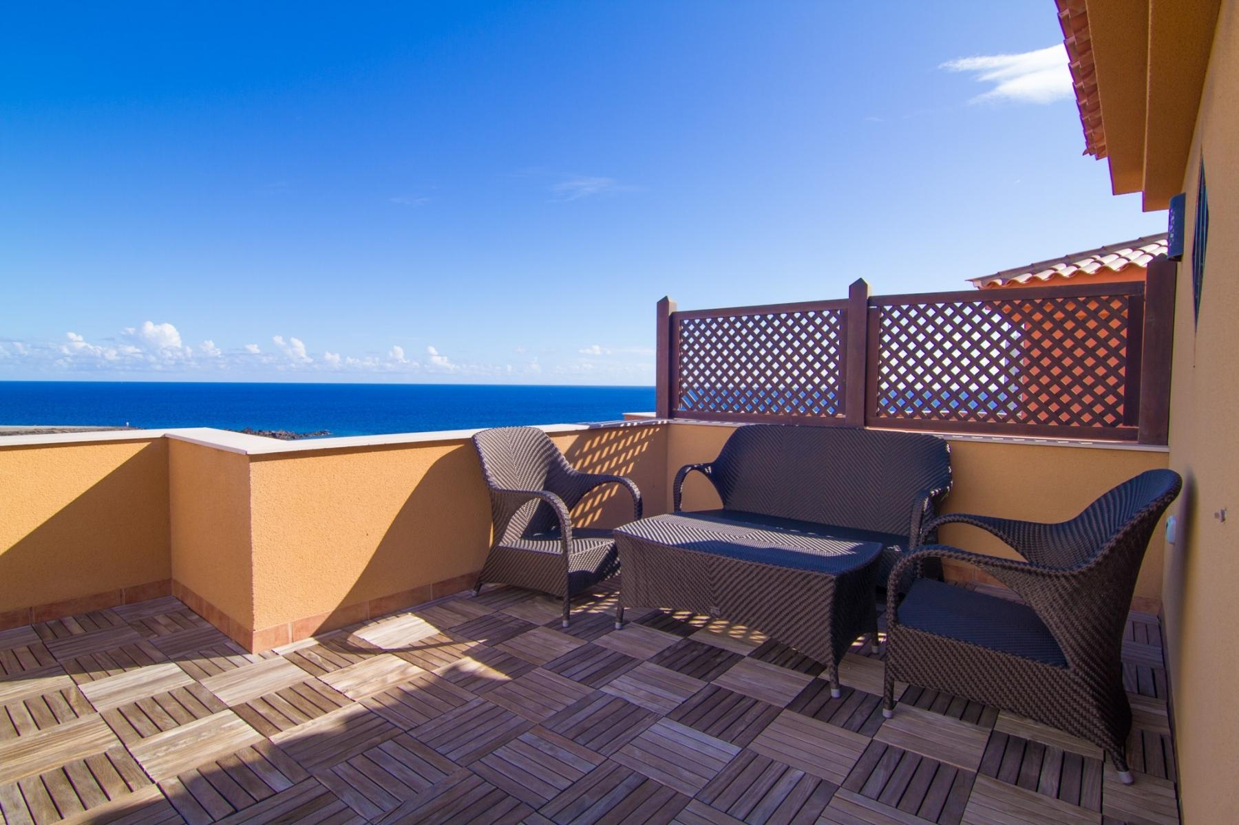 Properties for Sale in Tenerife, Canary Islands, Spain | SylkWayStar Real Estate. Luxury 3 bedrooms townhouse on the first line - San Blas . Image-22453