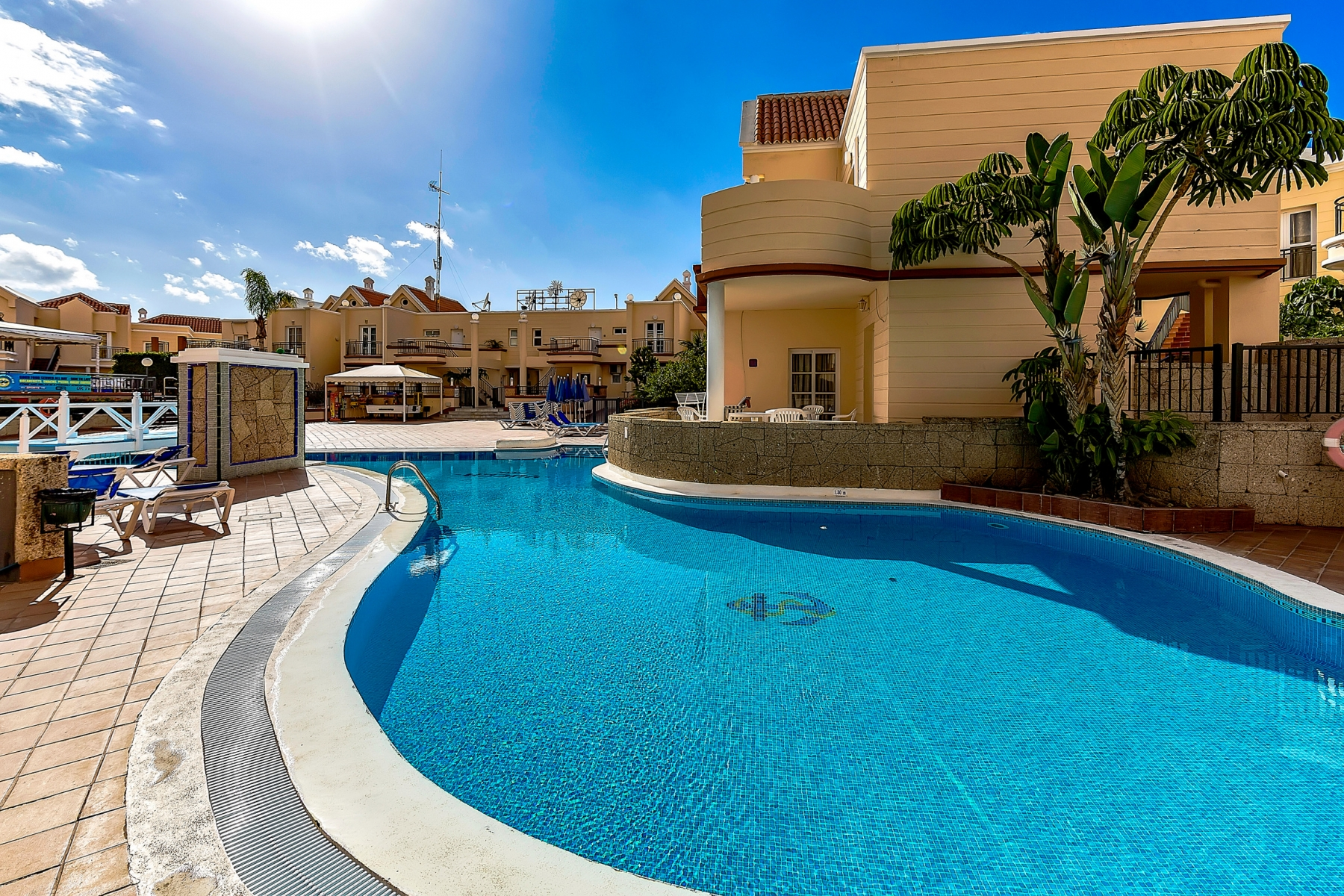 Properties for Sale in Tenerife, Canary Islands, Spain | SylkWayStar Real Estate. 1 bedroom apartment Yucca Park. Image-22542