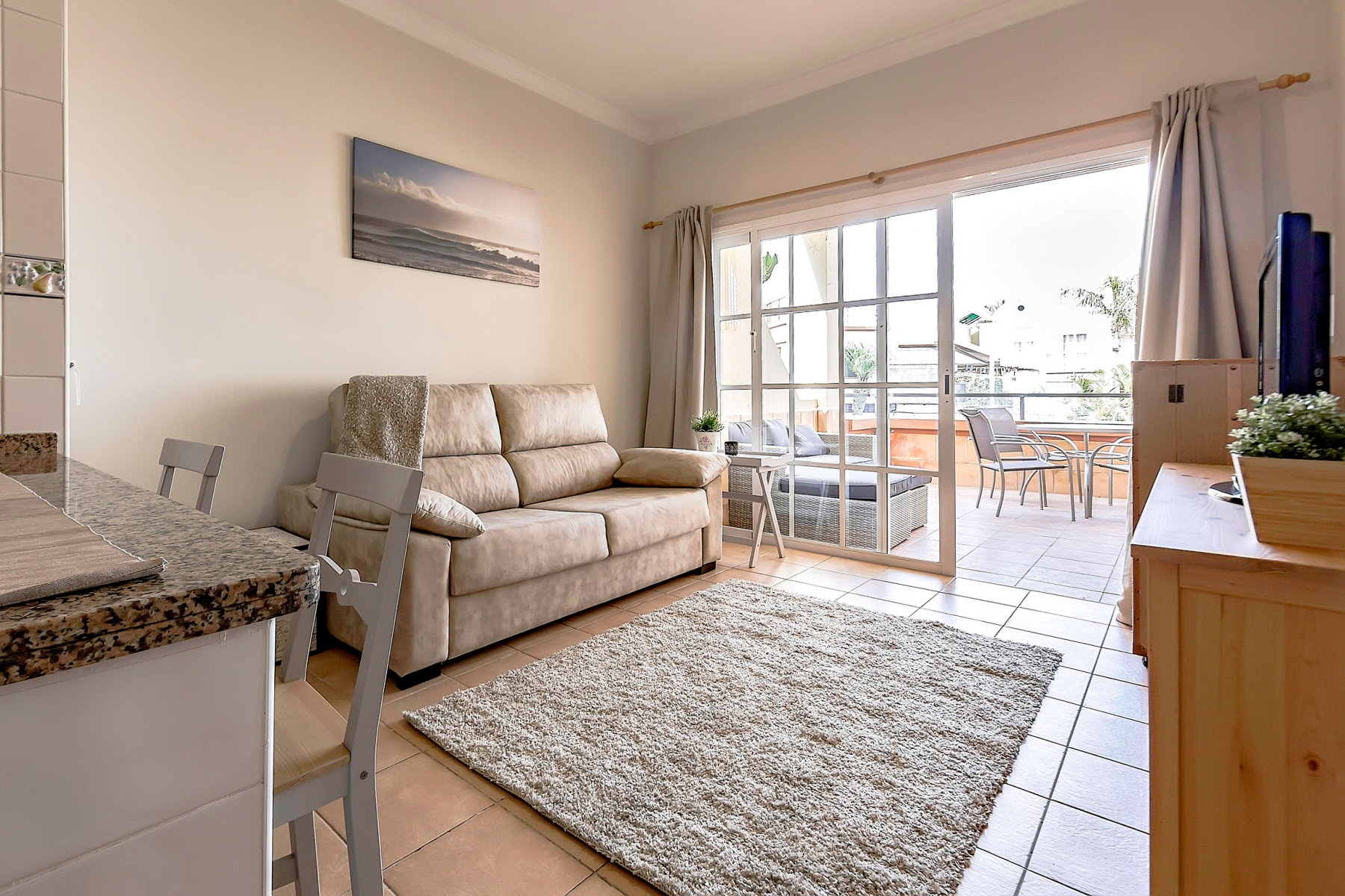 Properties for Sale in Tenerife, Canary Islands, Spain | SylkWayStar Real Estate. 1 bedroom apartment Yucca Park. Image-22588
