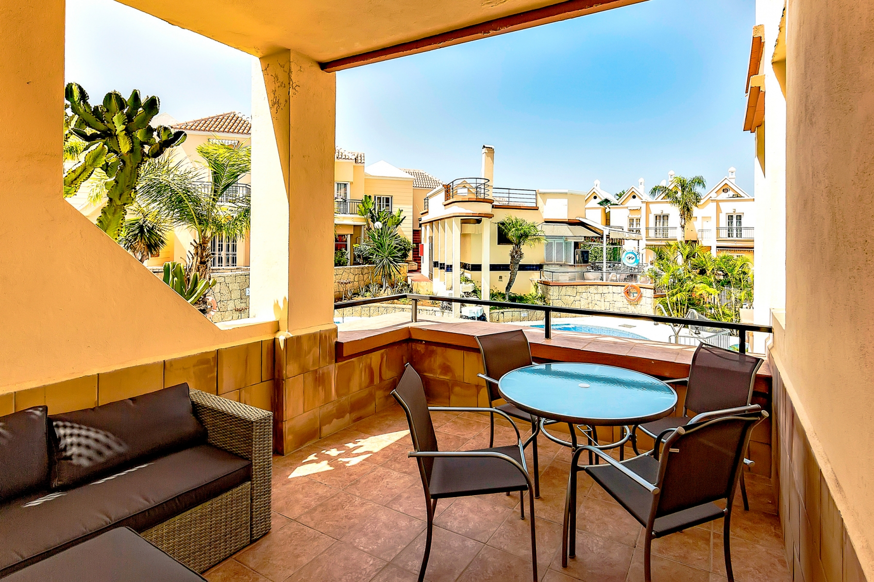 Properties for Sale in Tenerife, Canary Islands, Spain | SylkWayStar Real Estate. 1 bedroom apartment Yucca Park. Image-22593