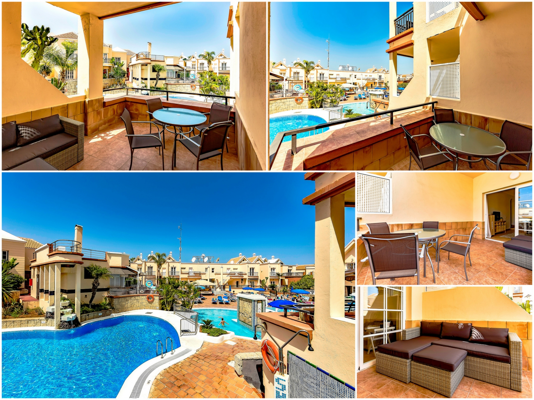 Properties for Sale in Tenerife, Canary Islands, Spain | SylkWayStar Real Estate. 1 bedroom apartment Yucca Park. Image-22619