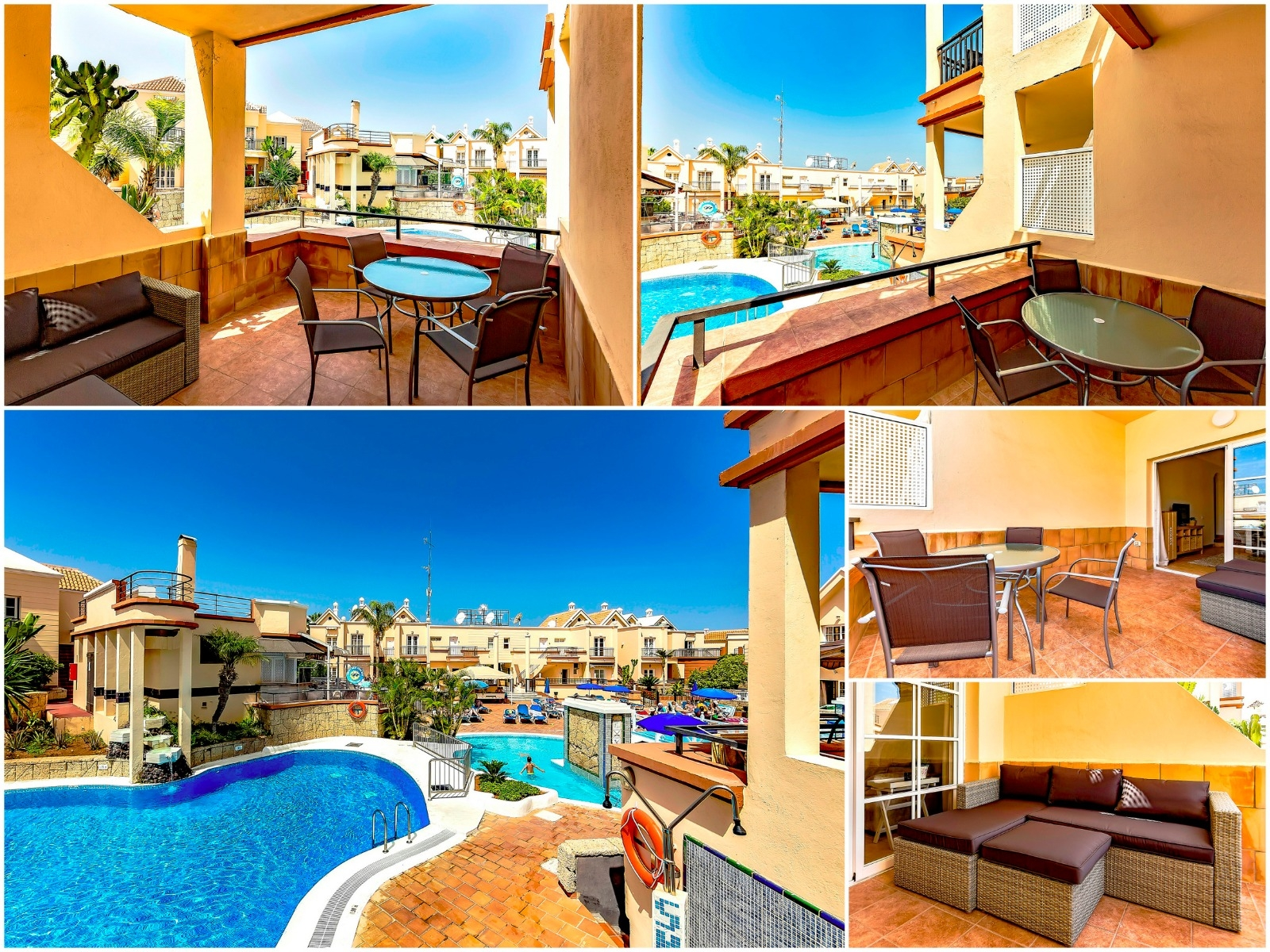 Properties for Sale in Tenerife, Canary Islands, Spain | SylkWayStar Real Estate. 1 bedroom apartment Yucca Park. Image-22569