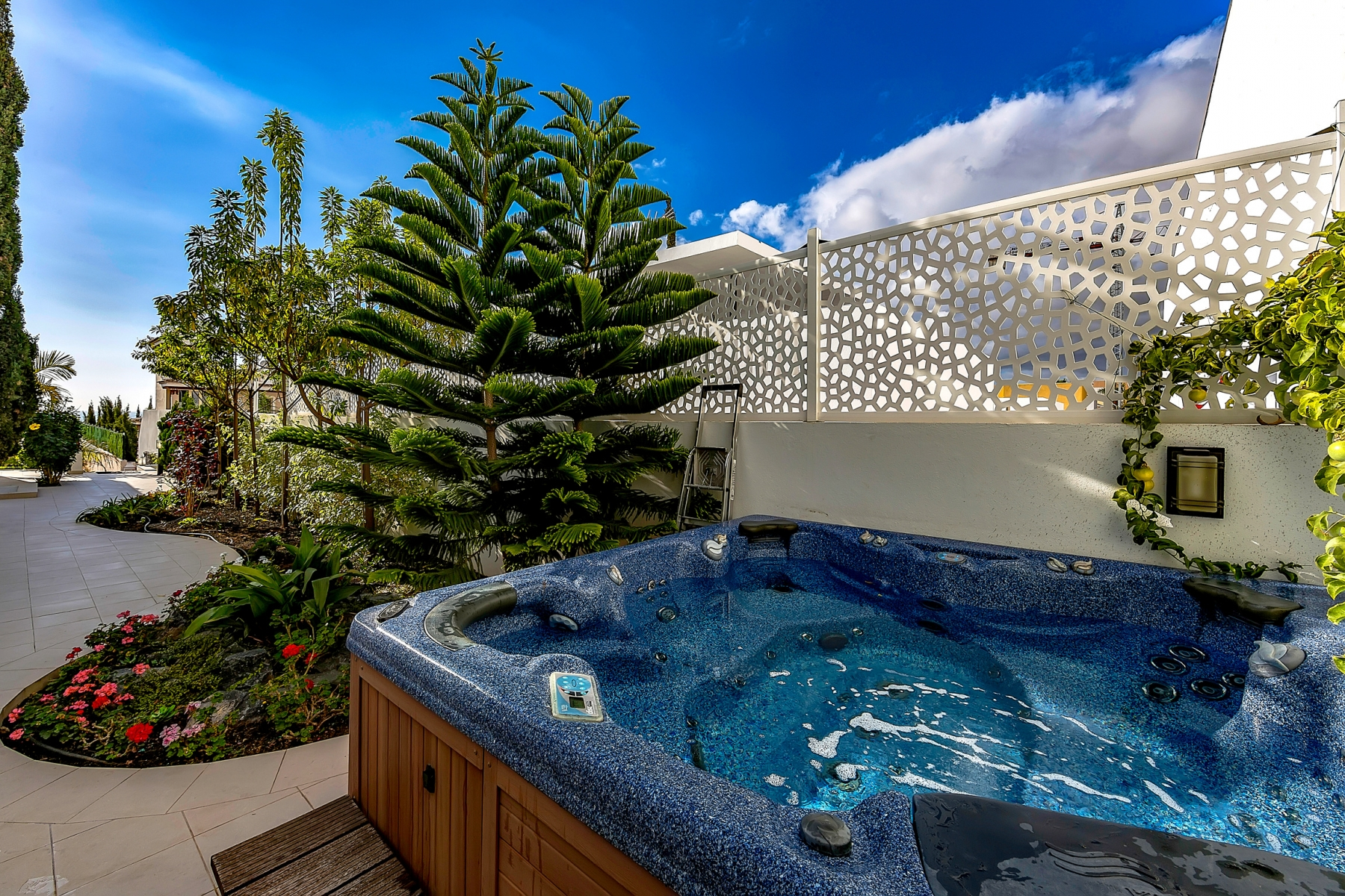 Properties for Sale in Tenerife, Canary Islands, Spain   SylkWayStar Real Estate. Luxury villa in the fashionable area of the south of the island of Tenerife – Madroñal.. Image-22823