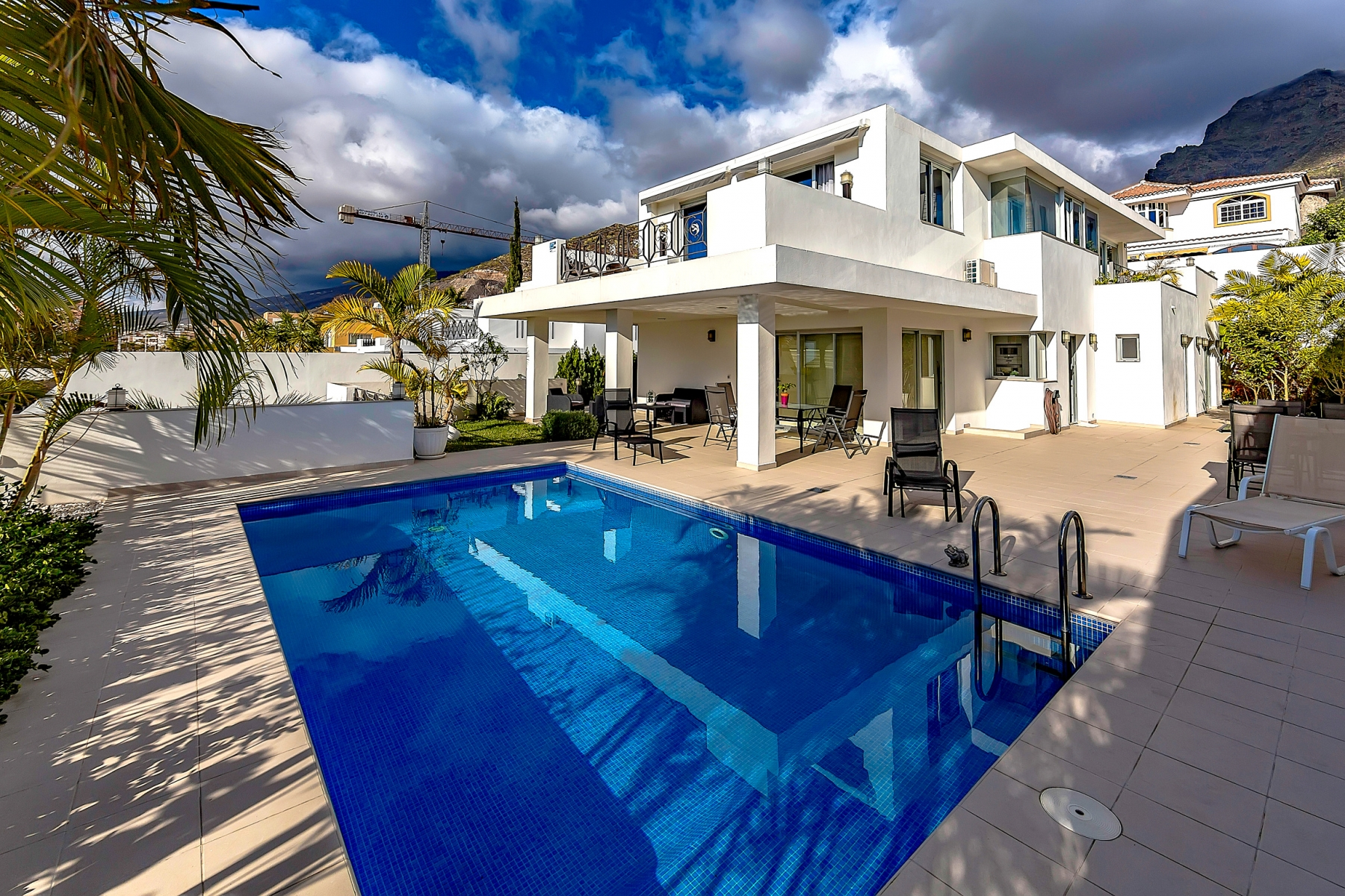 Properties for Sale in Tenerife, Canary Islands, Spain   SylkWayStar Real Estate. Luxury villa in the fashionable area of the south of the island of Tenerife – Madroñal.. Image-22827