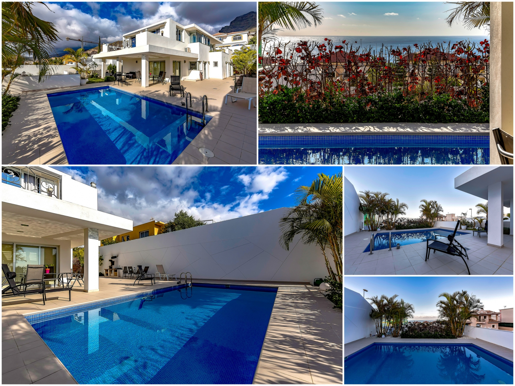 Properties for Sale in Tenerife, Canary Islands, Spain   SylkWayStar Real Estate. Luxury villa in the fashionable area of the south of the island of Tenerife – Madroñal.. Image-22853