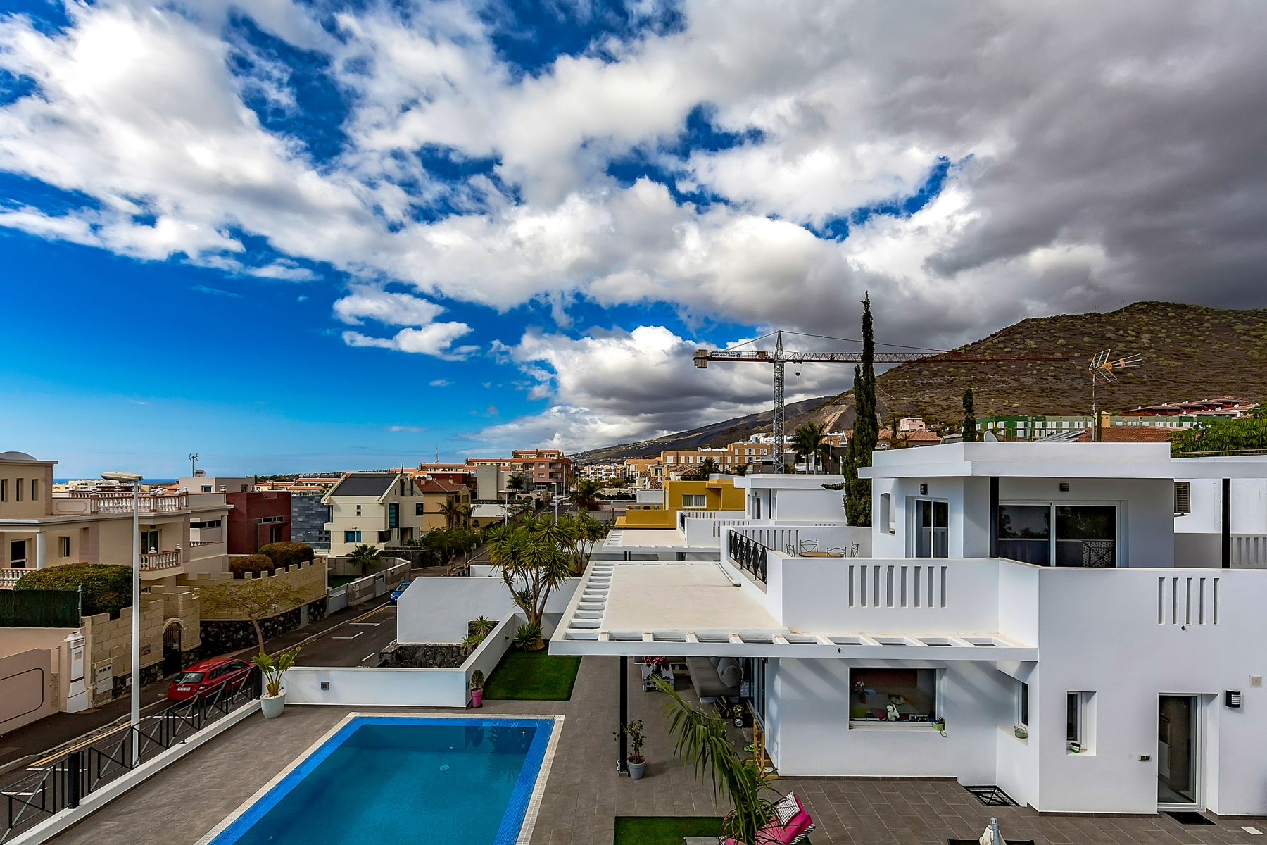 Properties for Sale in Tenerife, Canary Islands, Spain   SylkWayStar Real Estate. Luxury villa in the fashionable area of the south of the island of Tenerife – Madroñal.. Image-22760