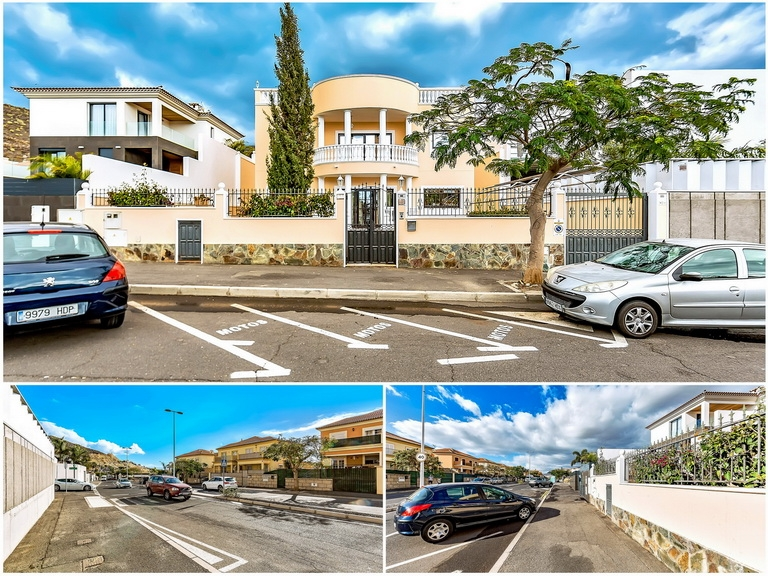 Properties for Sale in Tenerife, Canary Islands, Spain | SylkWayStar Real Estate. Luxury villa in the fashionable area of the south of the island of Tenerife – Madroñal. Image-22949