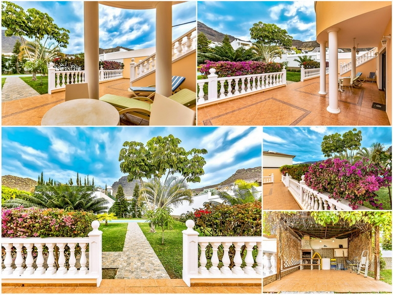 Properties for Sale in Tenerife, Canary Islands, Spain | SylkWayStar Real Estate. Luxury villa in the fashionable area of the south of the island of Tenerife – Madroñal. Image-22943