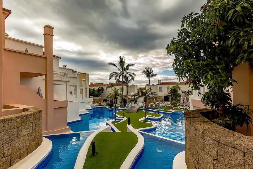Properties for Sale in Tenerife, Canary Islands, Spain | SylkWayStar Real Estate. 1 bedroom apartment Villas Fañabe. Image-23591
