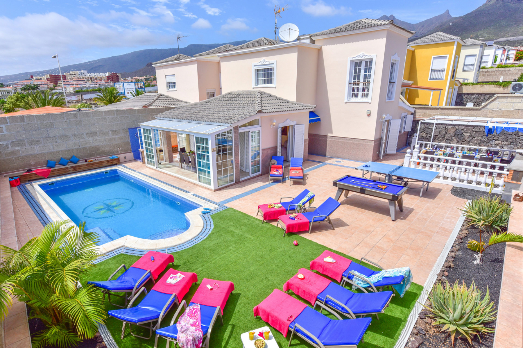 Properties for Sale in Tenerife, Canary Islands, Spain | SylkWayStar Real Estate. Villa 5 bedrooms Madroñal. Image-25083