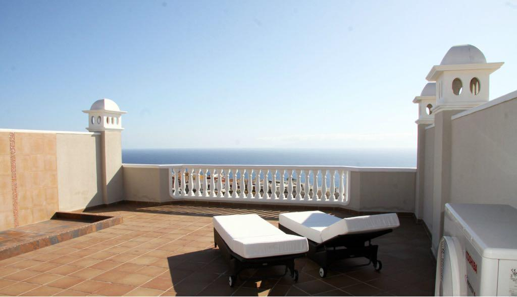 Properties for Sale in Tenerife, Canary Islands, Spain | SylkWayStar Real Estate. Penthouse 2 bedroom Los Gigantes. Image-25612