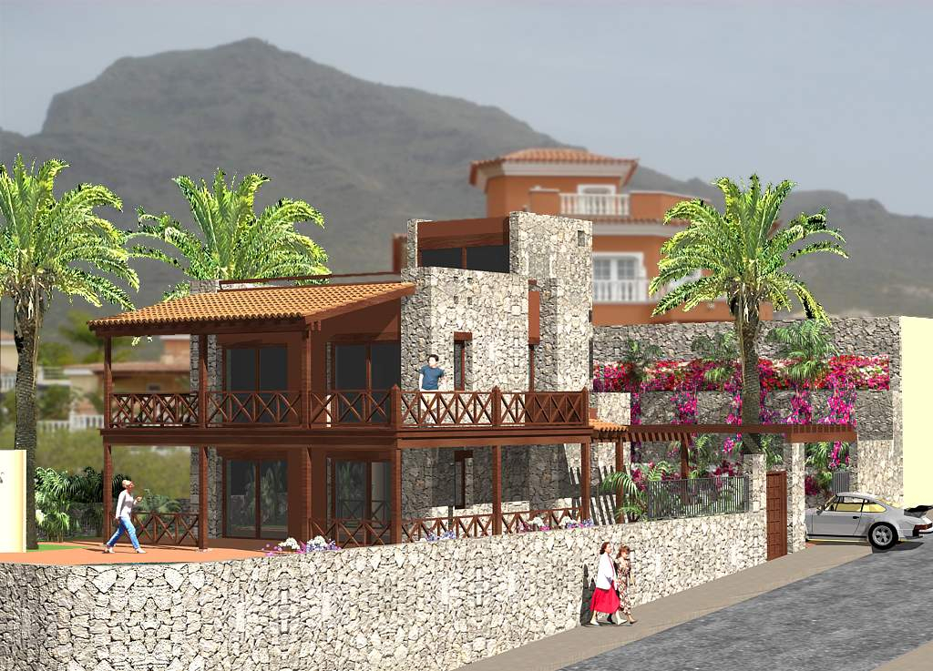 Properties for Sale in Tenerife, Canary Islands, Spain | SylkWayStar Real Estate. Plot with Madroñal House Project. Image-25743