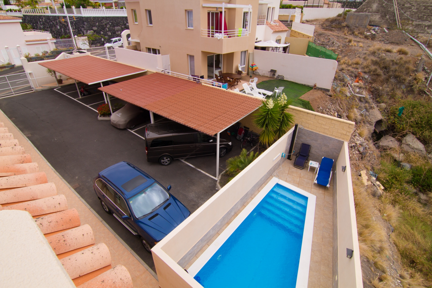 Properties for Sale in Tenerife, Canary Islands, Spain | SylkWayStar Real Estate. 4 bedrooms Townhouse - El Madroñal . Image-26214