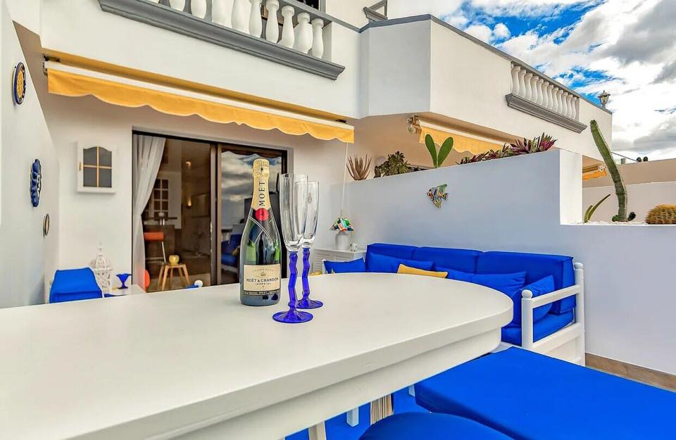 Properties for Sale in Tenerife, Canary Islands, Spain | TENERPROPERTY Real Estate. 1 Bedroom Apartment Santiago Del Teide Los Gigantes Apartment Club II. Image-26475