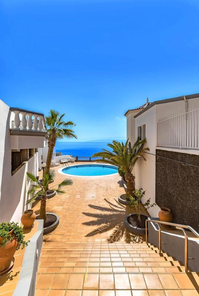 Properties for Sale in Tenerife, Canary Islands, Spain | TENERPROPERTY Real Estate. 1 Bedroom Apartment Santiago Del Teide Los Gigantes Apartment Club II. Image-26490