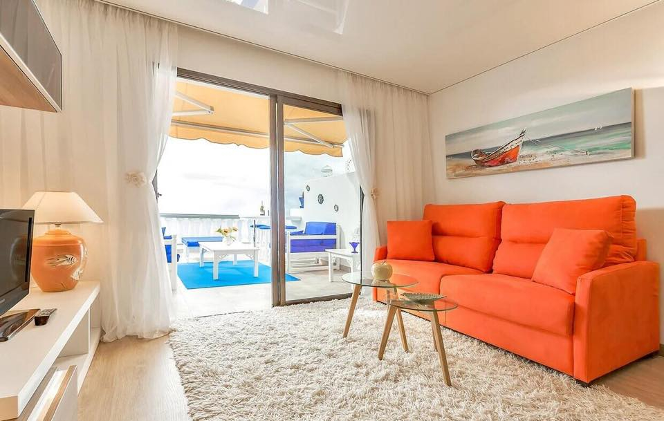 Properties for Sale in Tenerife, Canary Islands, Spain | TENERPROPERTY Real Estate. 1 Bedroom Apartment Santiago Del Teide Los Gigantes Apartment Club II. Image-26498
