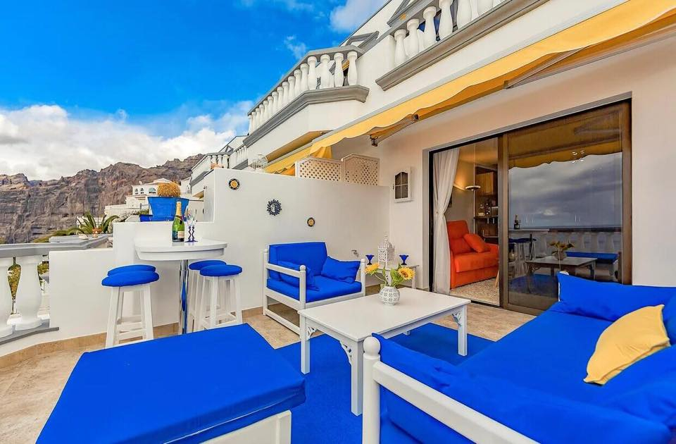 Properties for Sale in Tenerife, Canary Islands, Spain | TENERPROPERTY Real Estate. 1 Bedroom Apartment Santiago Del Teide Los Gigantes Apartment Club II. Image-26470