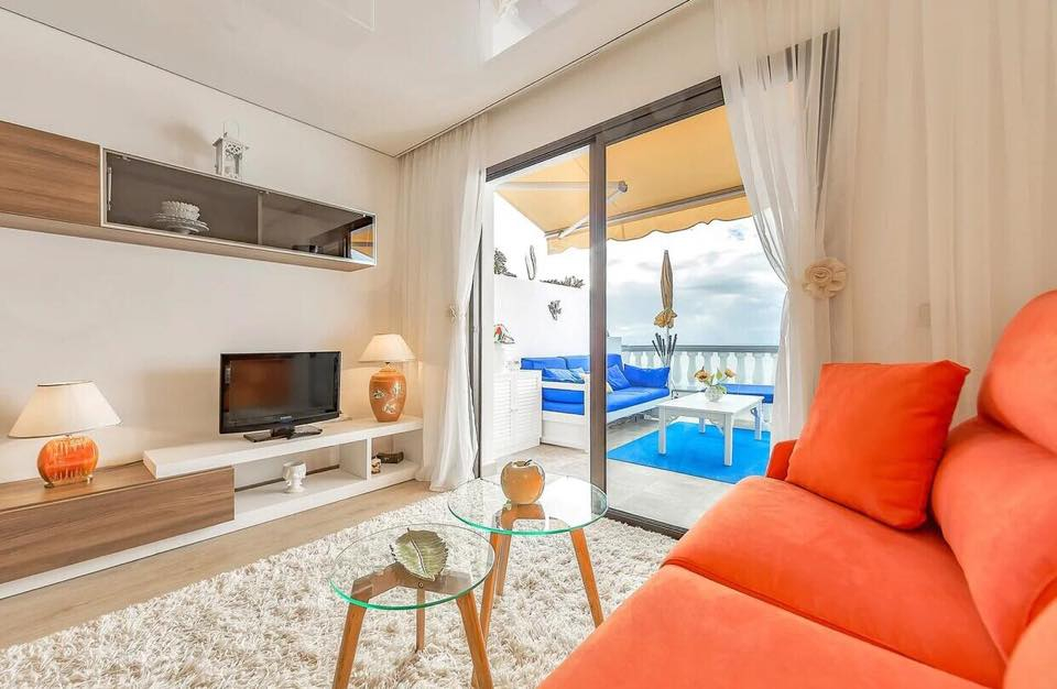 Properties for Sale in Tenerife, Canary Islands, Spain | TENERPROPERTY Real Estate. 1 Bedroom Apartment Santiago Del Teide Los Gigantes Apartment Club II. Image-26497